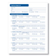 Easily document employee performance with a ComplyRight™ printable employee appraisal form