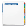Attendance Binder & Tabs - $5 with Attendance Calendar Purchase