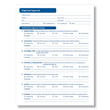 Easily document employee performance with a printable employee appraisal form