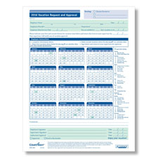 Employee Vacation Request Forms - Downloadable