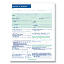 Blank Job Applications for Salary Employees - Downloadable