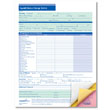 Payroll/Status Change Form - 3-part Carbonless