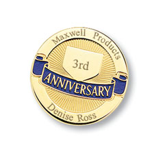 Workplace Anniversary Pin