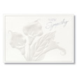 Calla Lilly Employee Sympathy Card