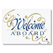 Ahoy New Employee Welcome Card