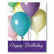 Balloon Bundle Office Birthday Cards