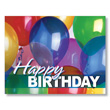 Balloon Explosion Employee Birthday Cards
