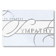 Formal Business Sympathy Card