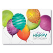 Colorful Balloons Team Birthday Cards