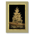 Radiant Tree of Lights Holiday Card