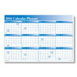 See what's ahead for a full year with a large wall planner
