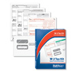 W-2 Tax Forms  Laser Kit- 4-part