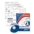 W-2 Tax Forms Laser Kit and Software- 4-part