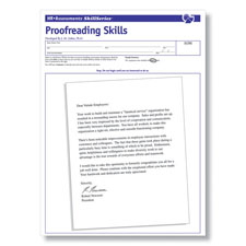 Proofreading Skills Test